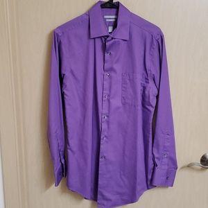 Light Purple Van Heusen Dress Shirt - Neck 15